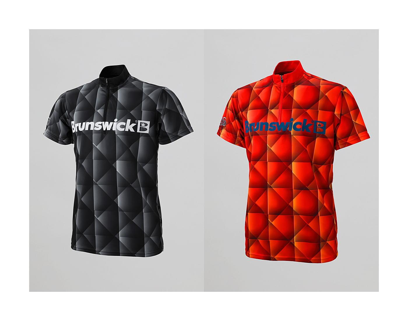 【STEEL TO SUNBRIDGE 新作】 S2S 001 カレイドスコープ(Brunswick) 立襟ジッパーシャツ (男女兼用サイズ)