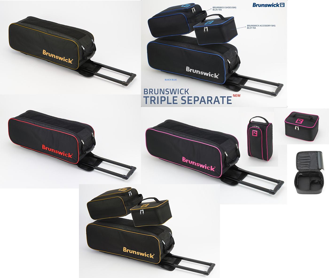 【Brunswick】 BC180-15T トリプルセパレート カートバッグ