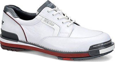 【Dexter 米国モデル】 SSTレトロ 【ホワイト・グレー・レッド】 D(M)幅 メンズ ボウリングシューズ(左右兼用モデル) 【送料無料】