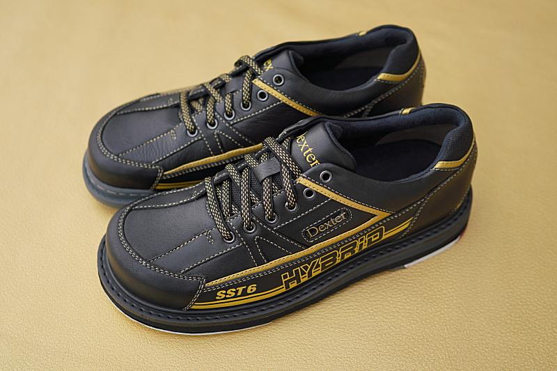 【Dexter】 SST6・ハイブリッド 【ブラック・ゴールド】 メンズ ボウリングシューズ(右投げのみ) 【送料無料】