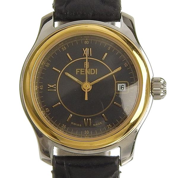 【スーパーSALE!】☆B楽市ネット店☆本物 FENDI フェンディ レディース クォーツ 腕時計 210L 【時計】【中古】
