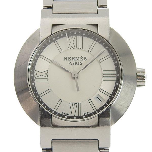 ☆B楽市ネット店☆本物 Hermes エルメス ノマード レディース オートクォーツ 腕時計 NO1.210 ジャンク 【時計】【中古】