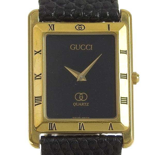 ☆B楽市ネット店☆本物 GUCCI グッチ メンズ クォーツ 腕時計 4200M 【時計】【中古】