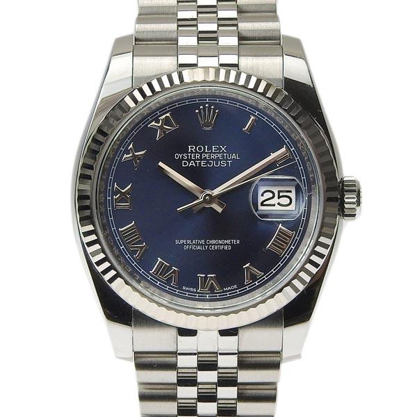 ☆B楽市本店☆本物 Rolex ロレックス デイトジャスト メンズ オートマ 腕時計 116234 ランダム 【時計】【中古】【美品】