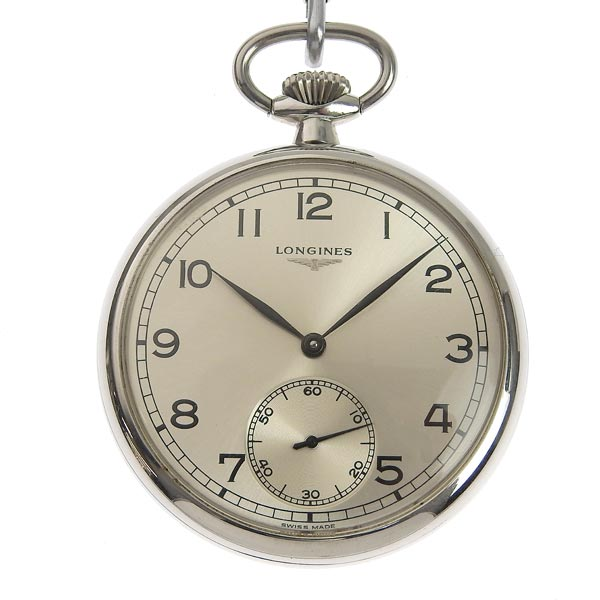 【スーパーSALE!】☆B楽市ネット店☆本物 LONGINES ロンジン 手巻き 懐中時計 【時計】【中古】