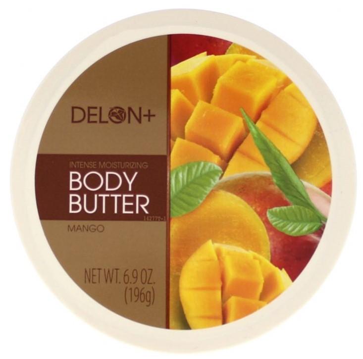 厳選した天然シアバター カナダ発のナチュラルコスメ DELON BODY BUTTER マンゴー セールSALE%OFF ボディーバター デロン おすすめ特集 MANGO