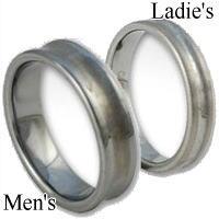 [ペア]ラインタングステンペアリング(指輪)*FREE STYLE(フリースタイル)Tungsten