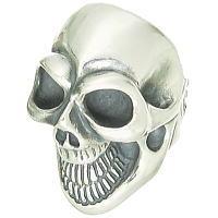 BWL(ビルウォールレザー) マスタースカル シルバーリング(指輪)Master Skull