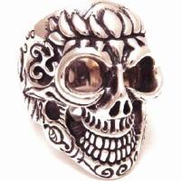 BWL(ビルウォールレザー) ロータスマスタースカル シルバーリング(指輪)Master Skull