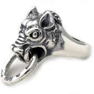 BWL(ビルウォールレザー) ボゥア シルバーリング(指輪)