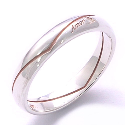 ダイヤモンド Amor ハート シルバーリング(指輪)*AQUA SILVER(アクアシルバー)