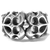 ハードラインアート シルバーリング(指輪)*Gaudi(ガウディジュエリー)