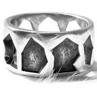 ペーストアート シルバーリング(指輪)*Gaudi(ガウディジュエリー)