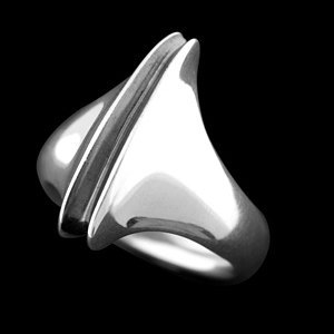 ロンワンズ(LONE ONES)*ラージリップス シルバーリング(指輪)