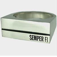 STONE COFFIN シルバーリング(指輪)*SEMPER FI(センパーフィ)
