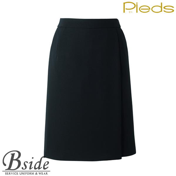 ピエ【Pieds】 キュロットスカート HCC3500 適度な伸縮性があるストレッチ素材。カラダへの負担を軽減します。 【スカート】 【レディース】  3500 series