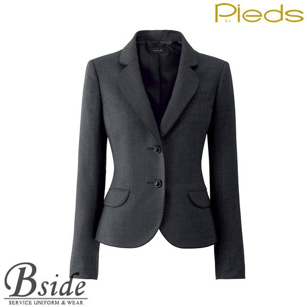 ピエ【Pieds】 ジャケット HCJ0930 便利なポケット付き。 【ジャケット】 【レディース】  0930 series