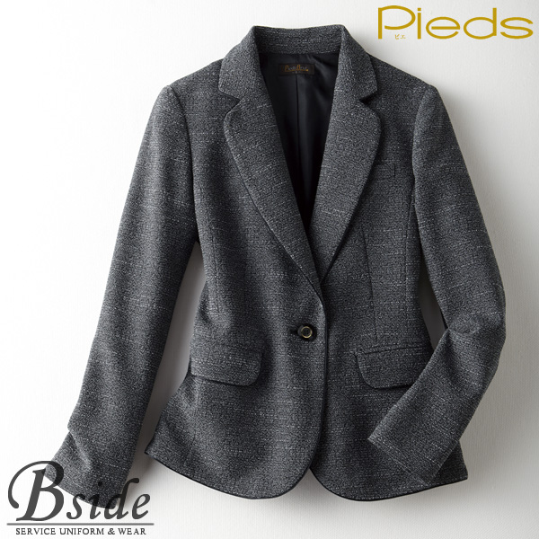 ピエ【Pieds】 ジャケット HCJ1500 軽くて動きやすい、贅沢な着心地 柔らかな肌触り 【ジャケット】 【レディース】  1500 series