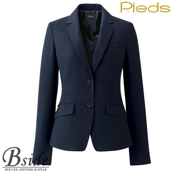 ピエ【Pieds】 ジャケット HCJ8010 オフィスで輝く上品なジャケット 【ジャケット】 【レディース】  8010 series