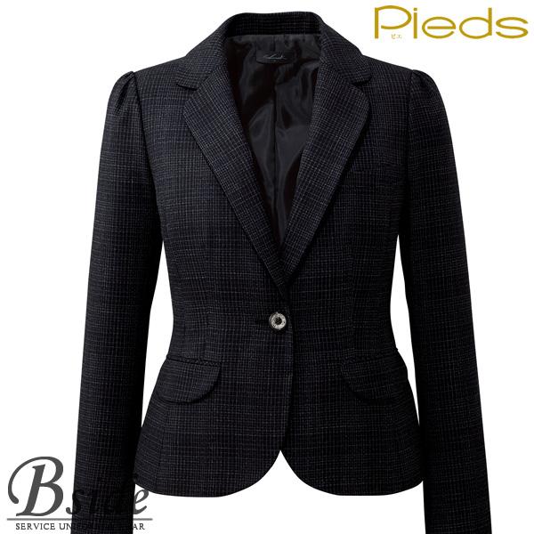 ピエ【Pieds】 ジャケット HCJ8110 オフィスで輝く上品なジャケット 【ジャケット】 【レディース】  8110 series