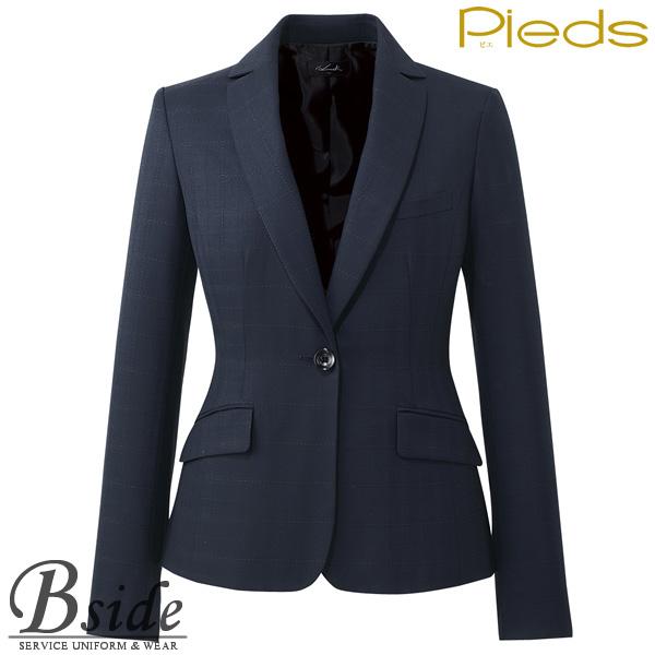 ピエ【Pieds】 ジャケット HCJ8120 オフィスで輝く上品なジャケット 【ジャケット】 【レディース】  8120 series
