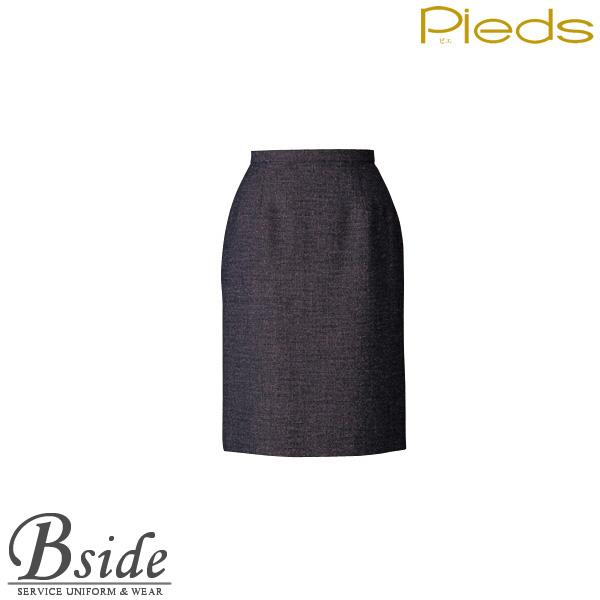 ピエ【Pieds】 スカート HCS0430 ほんのり色糸を効かせたシックなツイード素材、適度なストレッチ性 【スカート】 【レディース】  0430・0431 series