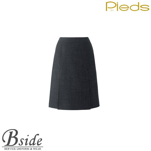 ピエ【Pieds】 ボックスプリーツスカート HCS0930 動きやすいらくらくカン仕様。 【スカート】 【レディース】  0930 series