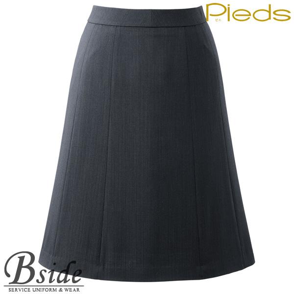 ピエ【Pieds】 フレアースカート HCS3611 上質ウールの風合いを実感 一年中、心地いい調温調湿素材 【スカート】 【レディース】  3610 series