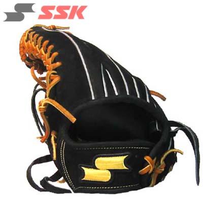 【特価品】SSK 硬式外野手用ヌバック調グラブ(左投げ) ORG97FN ブラック