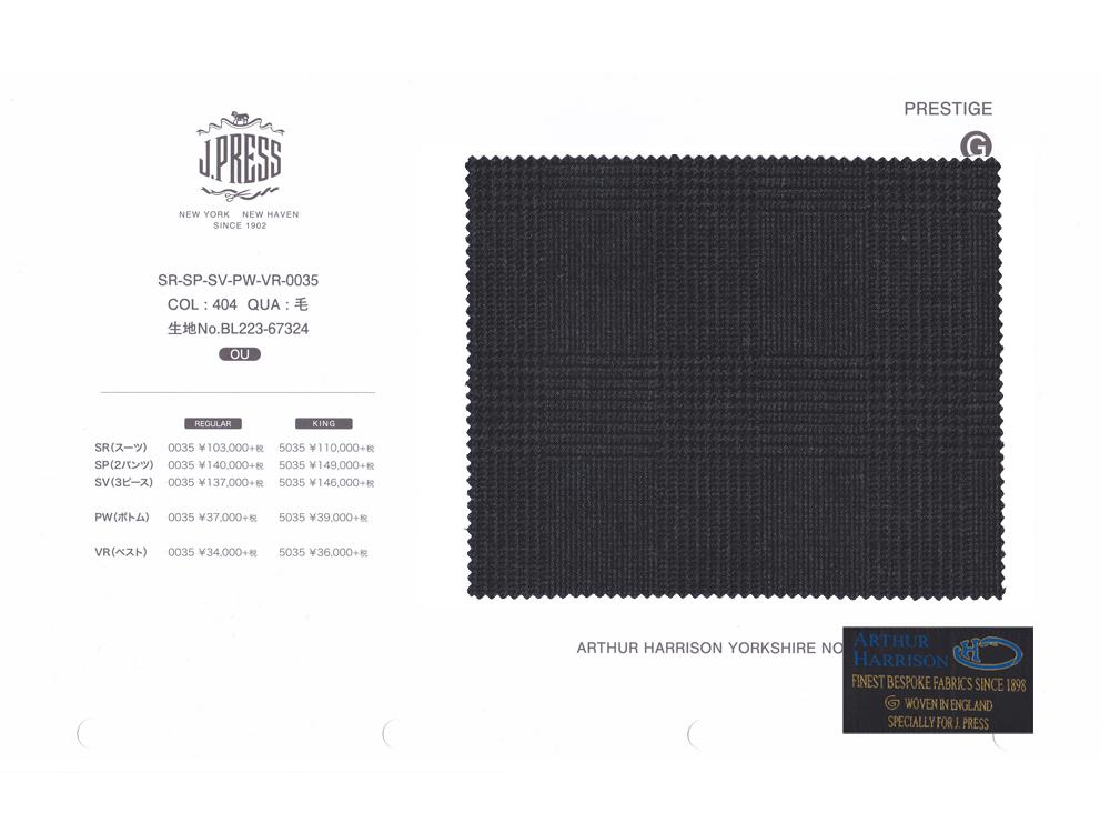 ARTHUR HARRISON Y.N.B. × J.PRESS パターンメイド スーツ YA体 グレナカートチェック スーツ チャコール 2020年秋・冬 3週間程度 NEW AUTHENTICモデル すっきり YA3~YA8
