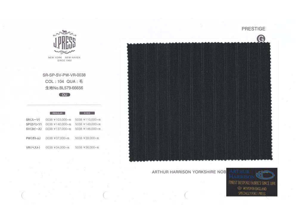 ARTHUR HARRISON Y.N.B. × J.PRESS パターンメイド スーツ YA体 ダブルストライプ柄 スーツ チャコール 2020年秋・冬 3週間程度 NEW AUTHENTICモデル すっきり YA3~YA8