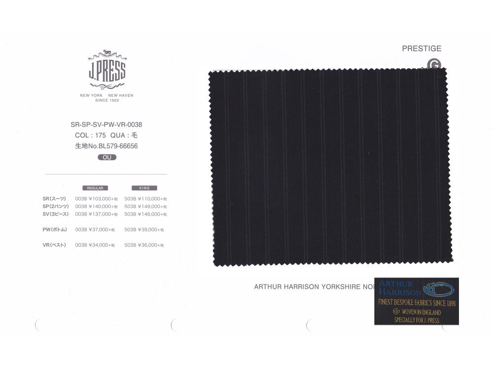 ARTHUR HARRISON Y.N.B. × J.PRESS パターンメイド スーツ AB体 ダブルストライプ柄 スーツ ネイビー 2020年秋・冬 3週間程度 NEW AUTHENTICモデル ややゆったり AB3~AB8