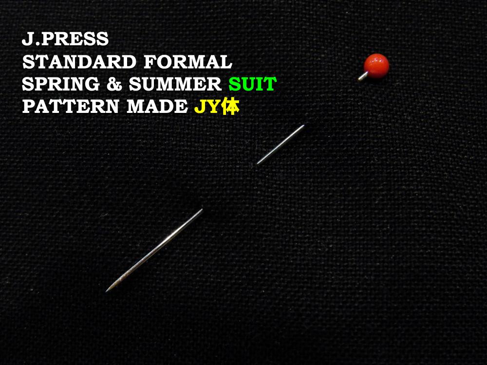 Jプレス J.PRESS(ジェイ・プレス) MEN パターンメイド フォーマル・スーツ JY体 ブラック 3釦段返り フックベント 1型 春・夏モデル Jプレス メンズ 3週間程度 AUTHENTICモデル すっきり JY3~JY8