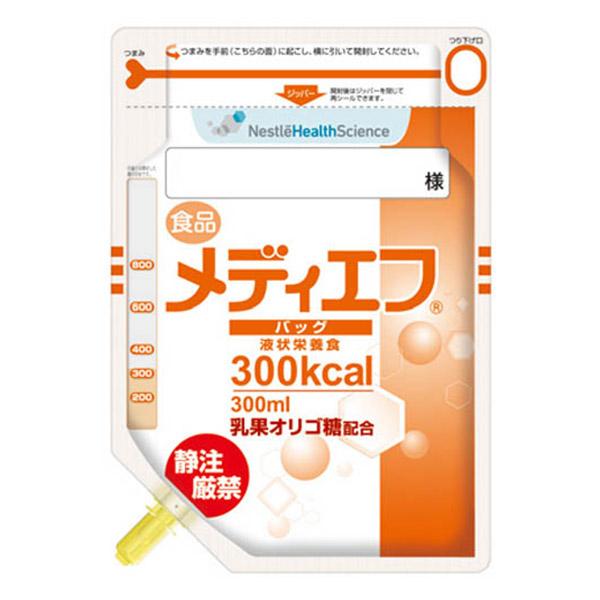 流動食 メディエフバッグ300kcal 300ml×24 【2ケース購入で送料無料】