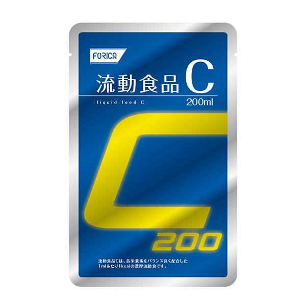 流動食 流動食品C200 200ml×30袋 【2ケース購入で送料無料】