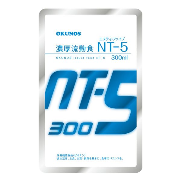 流動食 濃厚流動食 NT-5 300ml×30袋 【2ケース購入で送料無料】