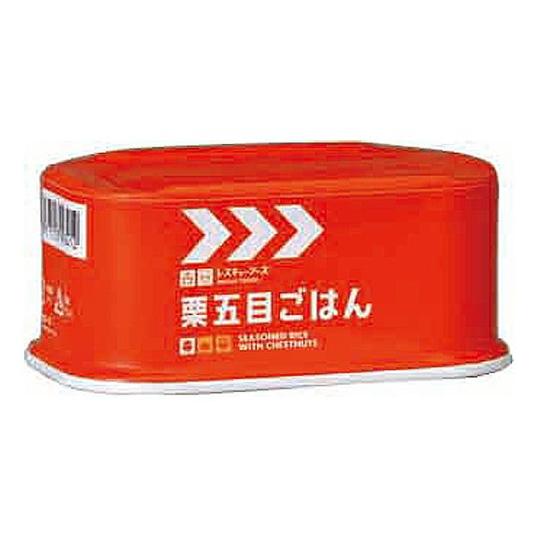 非常食 レスキューフーズ 栗五目ごはん 200g×24缶 【2ケース購入で送料無料】