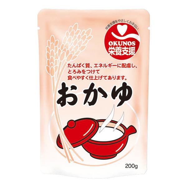 介護食 栄養支援おかゆ 200g×30 【2ケース購入で送料無料】