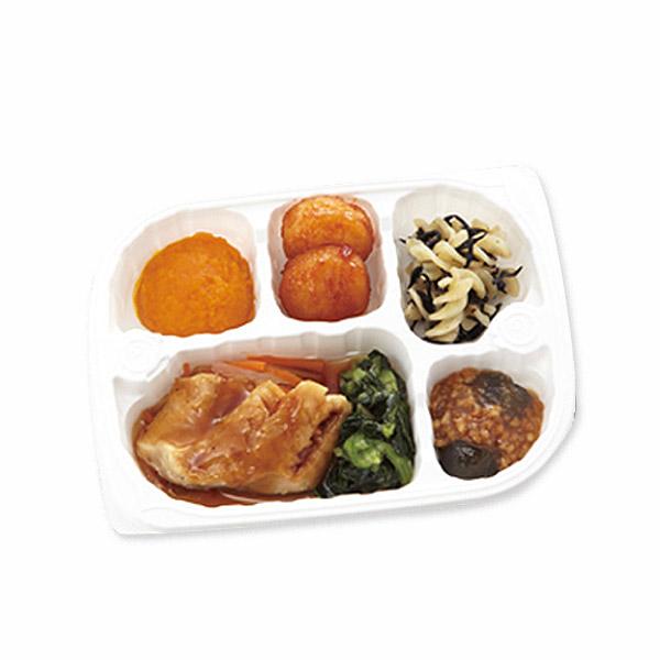 【冷凍】いきいき御膳 赤魚の煮付け 215g [腎臓病食/低たんぱく食品/たんぱく調整]