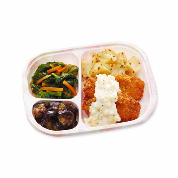 【冷凍】いきいき御膳mini アジフライ 155g [腎臓病食/低たんぱく食品/たんぱく調整]