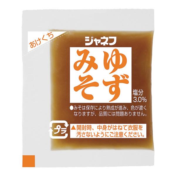 ジャネフ 腎臓病食 減塩 調味料 味噌 感謝価格 減塩みそ ゆずみそ 低たんぱく食品 減塩味噌 7g×40食 たんぱく調整 (人気激安)