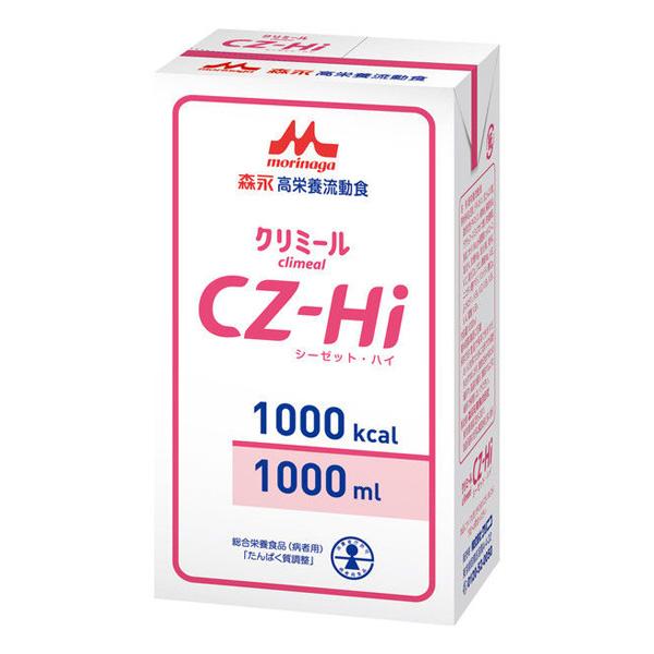 流動食 CZ-Hi(シーゼット・ハイ) 1000kcal 1000ml×6パック 【2ケース購入で送料無料】