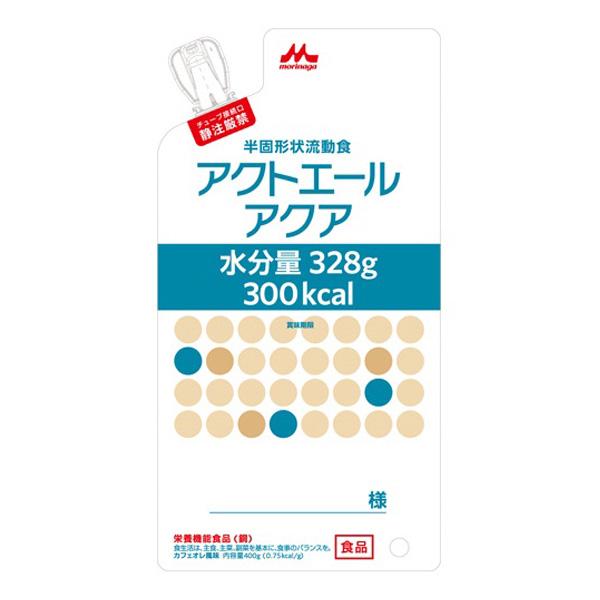 流動食 アクトエールアクア 300kcal 400g×20個 【2ケース購入で送料無料】