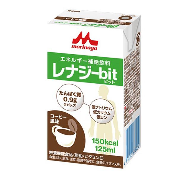レナジーbit(ビット) コーヒー風味 125ml×24本 [高カロリー]