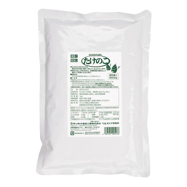介護食 やわらかキザミたけのこ 業務用 1kg×6 [やわらか食/介護食品] 【2ケース購入で送料無料】