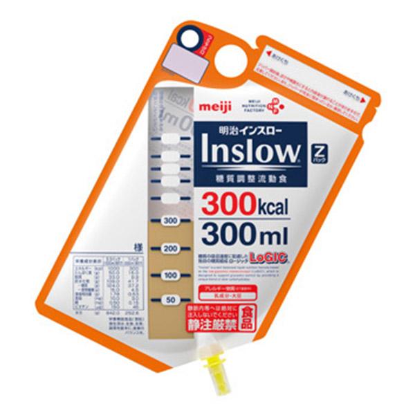 流動食 明治インスロー (Inslow) Zパック300kcal×12個 【2ケース購入で送料無料】
