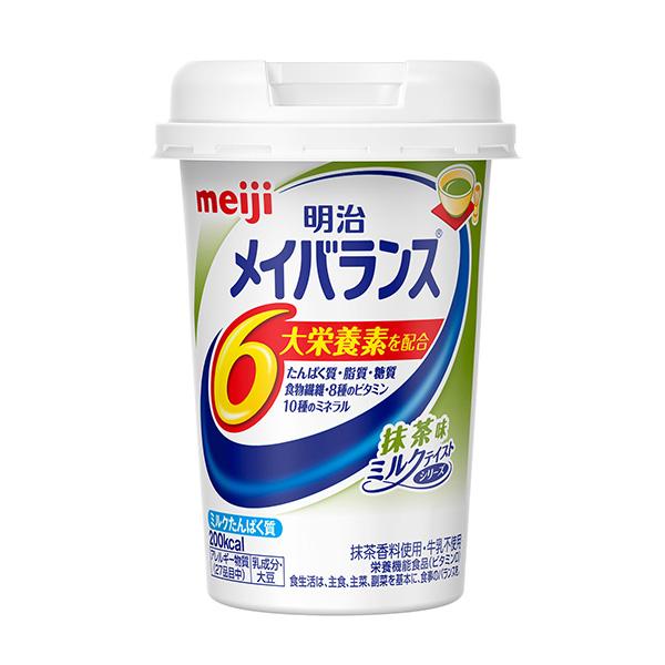 明治 メイバランスMiniカップ 抹茶味 125ml×24本