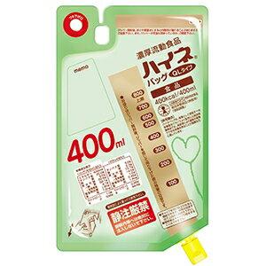 流動食 ハイネバッグQLタイプ 400ml×18袋 【2ケース購入で送料無料】
