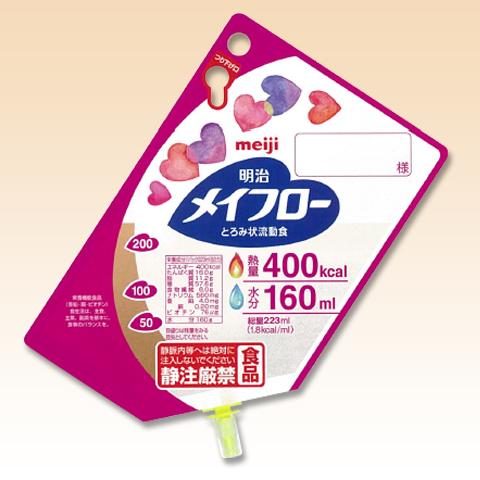 流動食 明治メイフロー 400kcal (223ml×24袋)【送料無料】