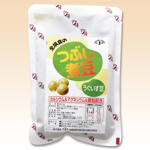 介護食 つぶし煮豆 うぐいす豆 300g×24袋 区分4[やわらか食/介護食品]